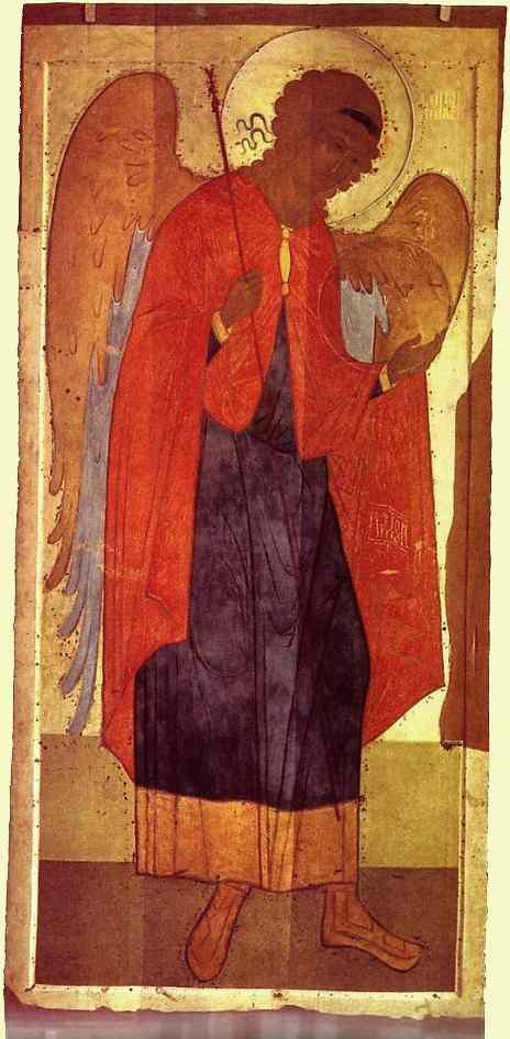 ICONS, Russian Archangel Michael, c1500