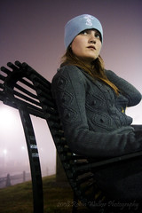 on a bench in the fog (The Lady Robin) Tags: selfportrait me fog myself downtown neworleans frenchquarter mississippiriver moonwalk andi afterdark robinwalker ontheriver beforegettingkickedoutbytheguard