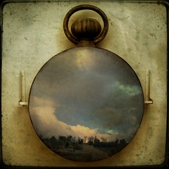 time free (Martine Roch) Tags: sky clock museum square landscape country watch surreal photomontage manray ttv petitechose martineroch
