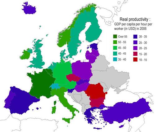 Productividad a la europea