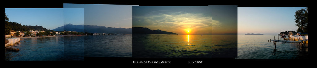 Thassos collage