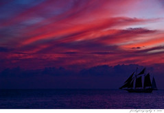 Blue Monday (Funkybug) Tags: sunset sky water colors sailboat sailing florida ships fineart sillouette keywest thumbsup twothumbsup pickyourpoison funkyfotography challengefactory
