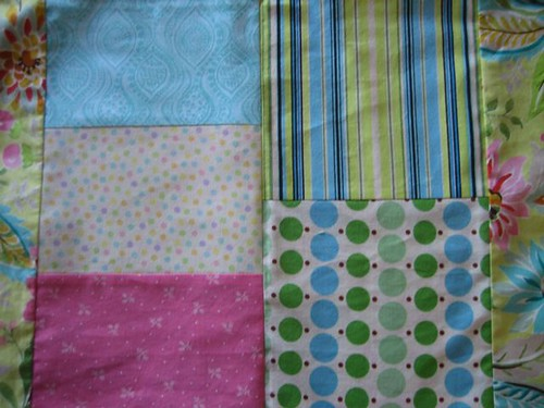 Class Quilt - pieced blocks