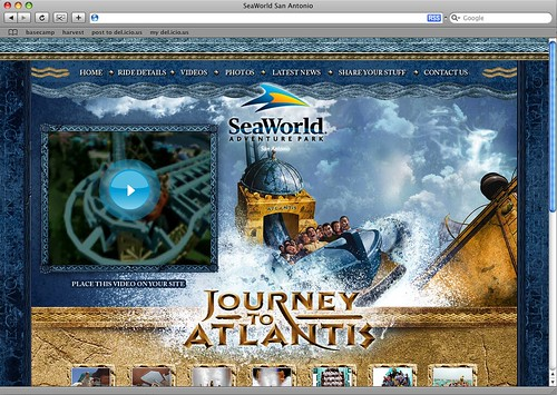 SeaWorld Journey to Atlantis