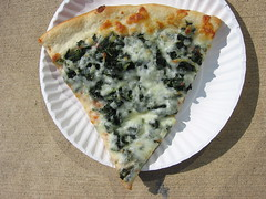 Spinach and Cheese Pizza 1 (iirraa) Tags: new city cheese newjersey nj atlantic pizza atlanticcity jersey spinach