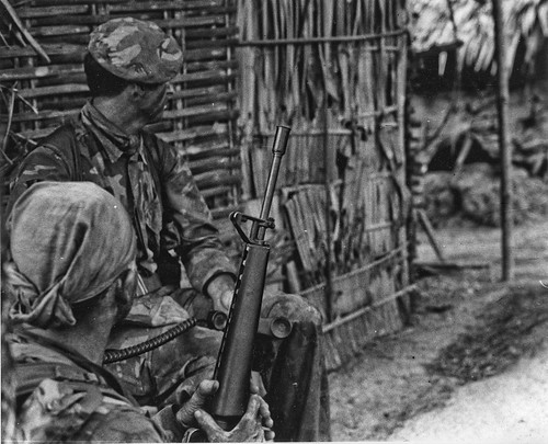 Navy SEAL Team in Mekong 1969 by Lance & Cromwell