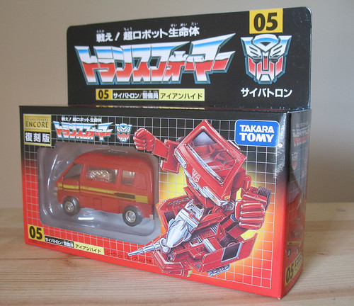 Transformers Encore 05 Ironhide