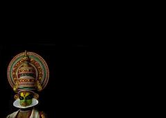 Kathakali dancer in traditional costume, Kochi - India (Eric Lafforgue) Tags: music india art tourism scale democracy dancing kerala indie indi cochin indien hind kochi indi inde kochin hodu kathakali southasia indland  hindistan indija   ndia hindustan 1467   lafforgue   ericlafforgue hindia  theatricalperformance bhrat kathakalidancing  indhiya bhratavarsha bhratadesha bharatadeshamu bhrrowtbaurshow  hndkastan