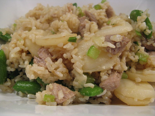 Stir Fried Rice & Pork