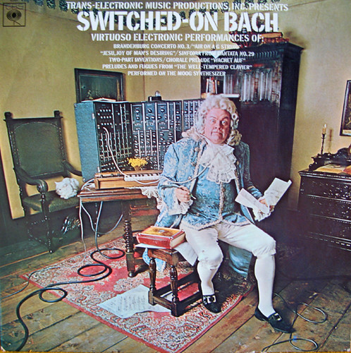 Switched-On Bach. Switched-On Bach 1968. Trans-Electronic Music Productions,