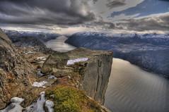 Pulpit Rock (Per Erik Sviland) Tags: norway rock nikon erik per pulpit hdr prekestolen lysefjorden d300 pererik superbmasterpiece diamondclassphotographer flickrdiamond sviland sqbbe pereriksviland