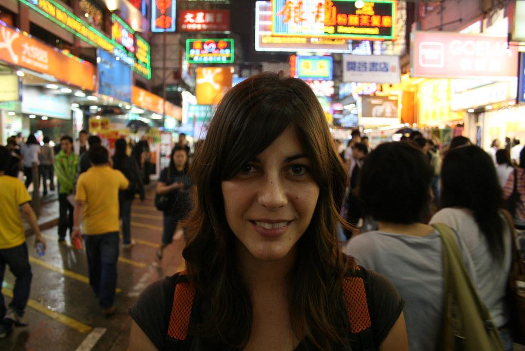 en las calles de hk