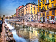 I  Milano (il Presbite) Tags: italy ancient italia niceshot milano oldfashion riflessi lombardia architettura hdr navigli darsena navigliogrande pontediferro flickrstruereflection1 flickrstruereflection2 flickrstruereflection3 flickrstruereflection4