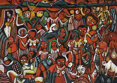 Malangatana Mural