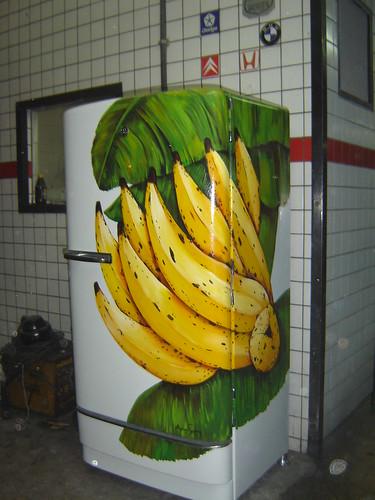 geladeira GE branca por argina seixas.