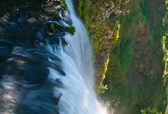 Multnomah Falls - Looking Down (Paul Swortz) Tags: usa oregon 2008 swortz oregonjune2008