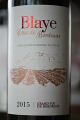 Blaye, Cotes de Bordeaux 2015 (Jojorei) Tags: bordeaux wine red rotwein rot wein blaye flasche bottle france french frankreich cotes taste geschmack cuvee trocken dry half degustieren gustieren preis price vin drink trinken alkohol