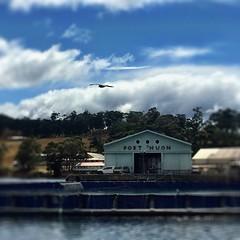 Port Huon. Huon River. Tasmania.