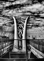 Bridge, Garbatella, Rome, Italy. Built Structure Architecture Outdoors Metal Building Exterior No People Street Monochrome Photography Blackandwhite Rome Italy Lumixlx15 Black And White Monochrome City IPhoneography Street Metapolitica (Massimo Virgilio - Metapolitica) Tags: builtstructure architecture outdoors metal buildingexterior nopeople street monochromephotography blackandwhite rome italy lumixlx15 monochrome city iphoneography metapolitica