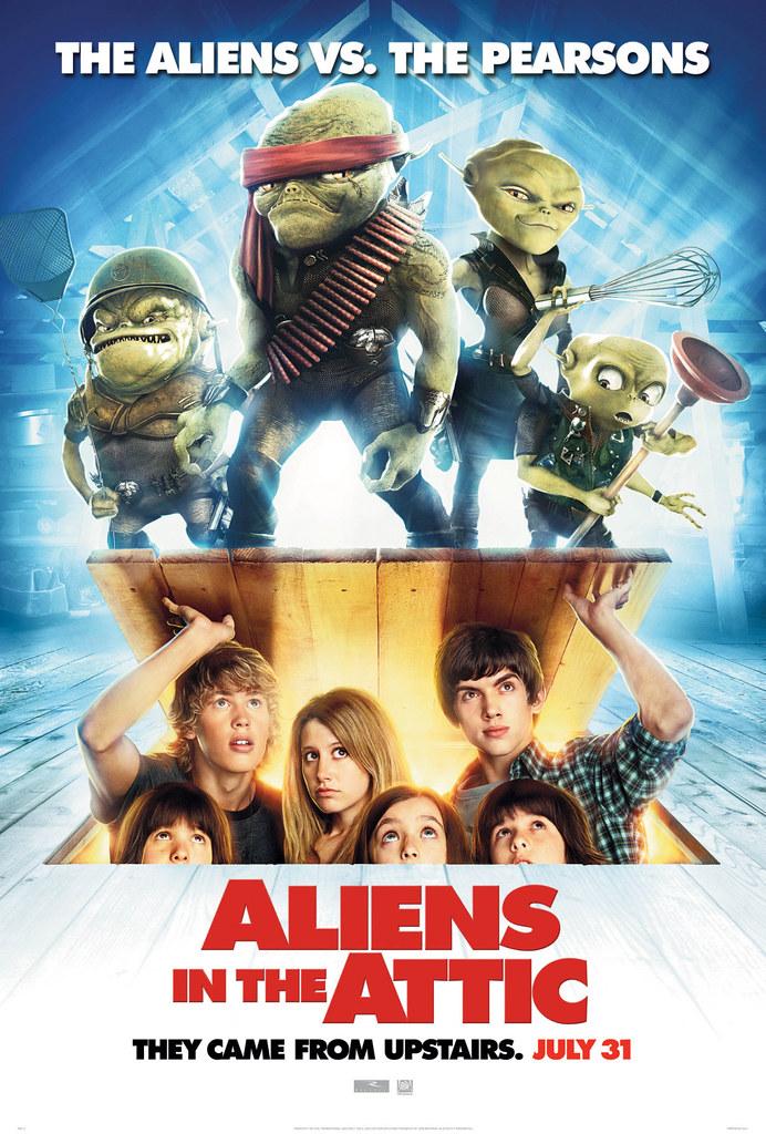 aliens al ataque