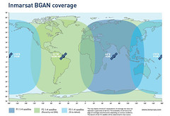INMARSAT BGAN Coverage
