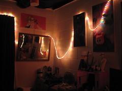Light ropes! (rainbowstripe) Tags: lights bedroom room ambience