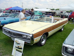1969 Chrysler Newport Sport Grain Convertible (splattergraphics) Tags: 1969 woody convertible newport chrysler mopar carlisle carshow cbody sportgrain carlisleallchryslernationals