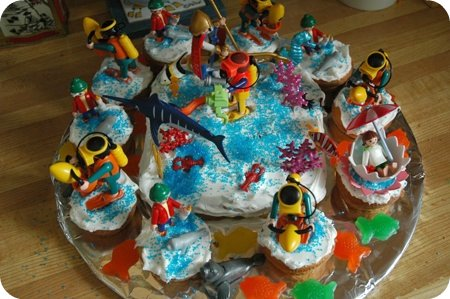 cake explosion