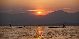 Inle lake panorma - Myanmar