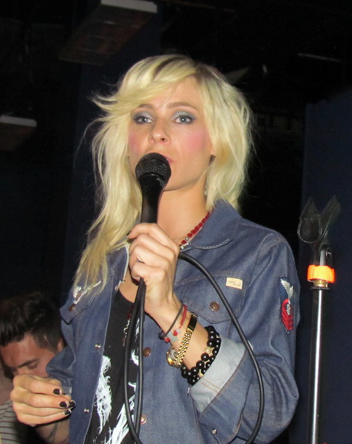 The Sounds play at Selfridges