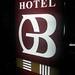 Hotel B Sign