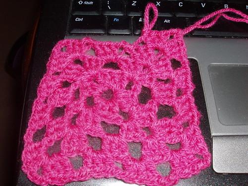 Communion Crochet Cardigan Knit, Inc