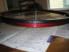 wheel build 1 007 (Andrew183) Tags: wheel velocity mavic aerohead cxp21 wheelbuild1