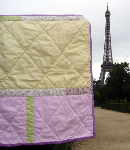 petit paris patisserie -- Doll Quilt