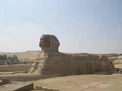The Great Sphynx of Giza (upyernoz) Tags: egypt pyramids sphynx giza