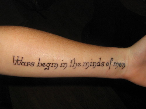 Tattoo Ideas: Quotes on Religions, God, Faith Quotes Arm Tattoo Picture 3