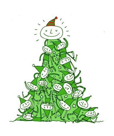 shaun's christmas tree