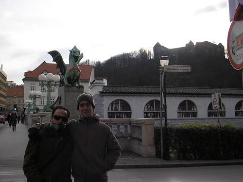Puente de los dragones, ljubljana