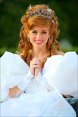 Princess Giselle (FrogMiller) Tags: tiara beautiful beauty pretty dress princess disneyland gorgeous disney giselle crown lovely enchanted disneyprincess castmember brittdietz