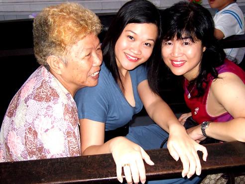 Granny, me and mom.