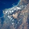 Sierra Nevada de Santa Marta desde el espacio