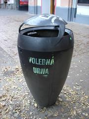 volebna urna postovej ulici (alex_pain) Tags: street art stencil bratislava urna ulica postova volebna