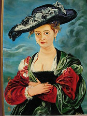 Peter Paul Ruben's 'Portrait of Susanna Lunden(?)' (Le Chapeau de Paille). (davidezartz) Tags: blue light shadow red portrait brown white black green london art hat painting grey nikon artist belgium belgique sister board famous felt nationalgallery ring helena antwerp baroque picturesque flemish rubens copy glance poil oils antwerpen oldmaster sitter paille lunden themoulinrouge e3100 blueribbonwinner peterpaulrubens supershot nikone3100 nikonstunninggallery golddragon mywinners platinumphoto theunforgettablepictures betterthangood 15771640 marriageportrait flickrestrellas susannalunden portraitofsusannalunden lechapeaudepaille thestrawhat rubenssecondwife multimegashot
