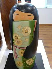 I Know I'm Beautiful. (ighosts) Tags: japan dolls japanesedolls kokeshi woodendolls creativedollsjapanesewoodendolls