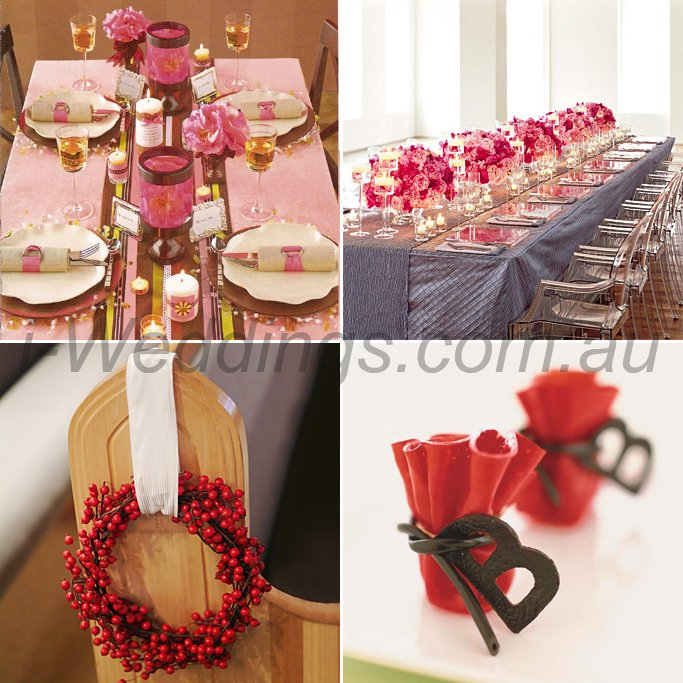 iLoveThese shades of red wedding ideas3