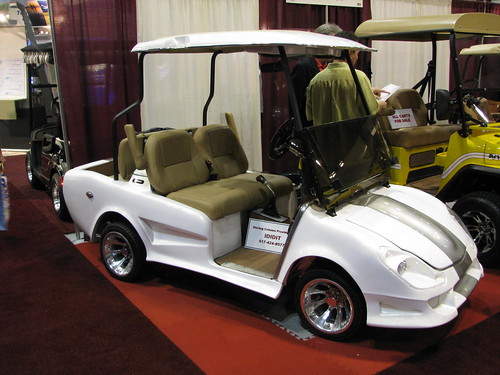 Golf Cart at the 2008 PGA Golf Show by danperry.com, on Flickr