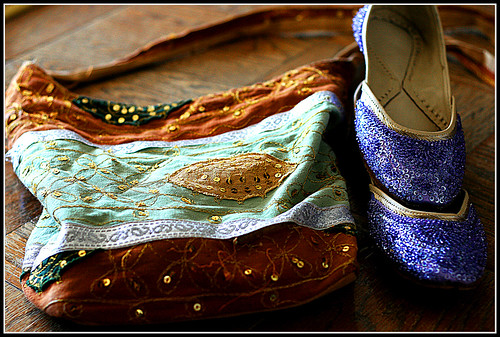 Indian Bag & Shoes by Aeti.