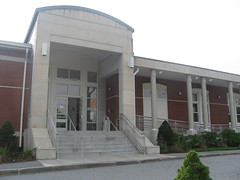 Chelmsford Public Library Front Door