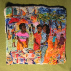Spice mkt (haddy2dogs) Tags: art wool felted etsy tapestry haddy2dogs