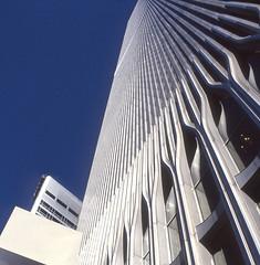 Lost view  #2 (Rob de Hero) Tags: nyc ny newyork analog manhattan worldtradecenter towers twin slide dia twintowers wtc analogue